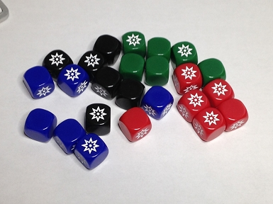Grasshopper's Battle Dice (40/Set)